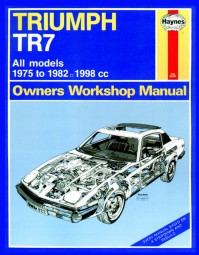 Triumph TR7 #2# Haynes Owners Workshop Manual · Reparaturanleitung