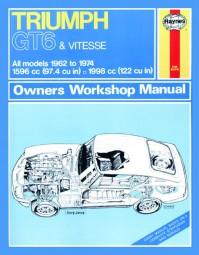 Triumph GT6 & Vitesse #2# Haynes Owners Workshop Manual · Reparaturanleitung