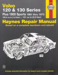 Volvo 120 130 Amazon & P1800 #2# Haynes Repair Manual · Reparaturanleitung